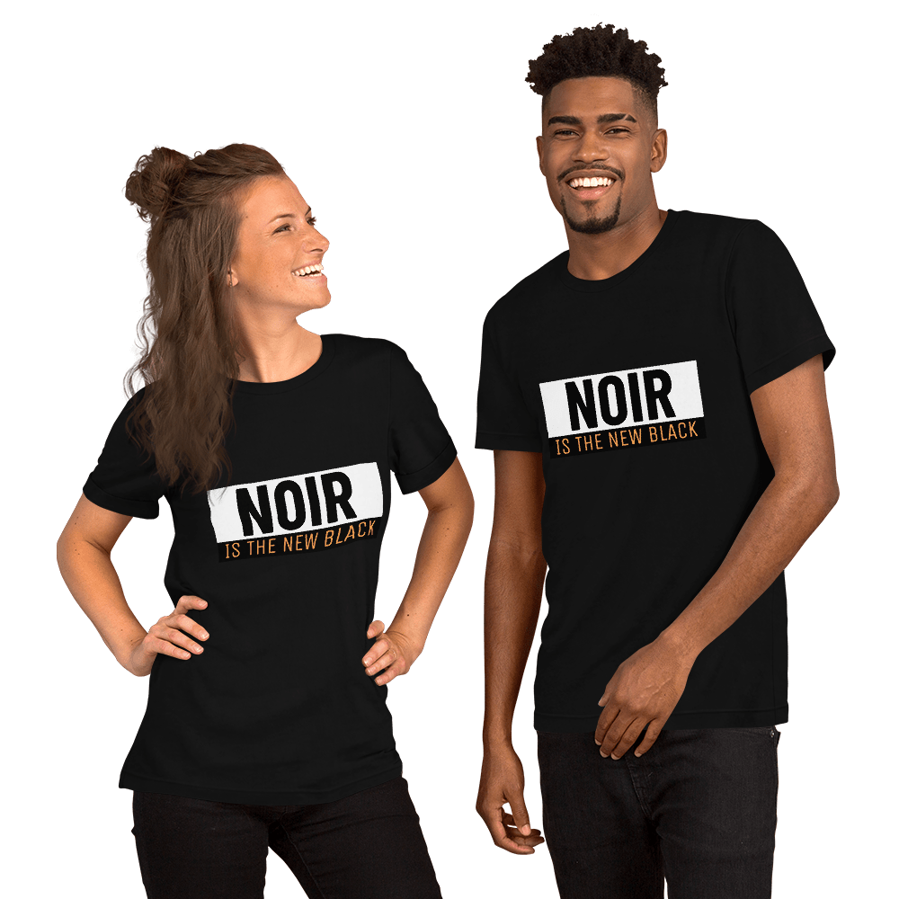 tee shirt noir is the new black