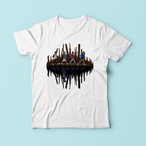 Tee shirt Stranger Things - Upside World Créer Son T Shirt