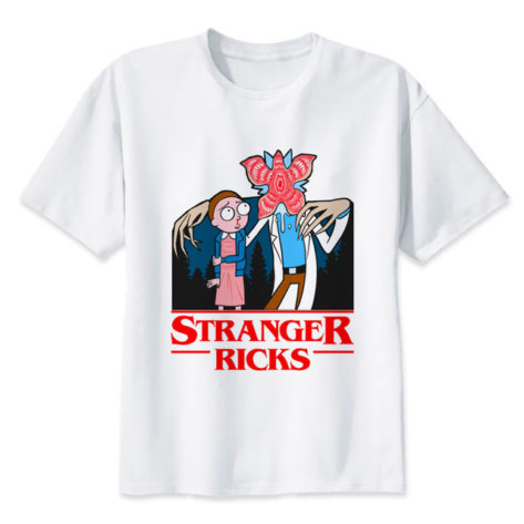 stranger things t shirt