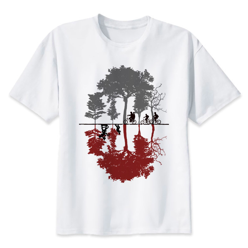 Tee shirt Stranger Things - Upside Down Créer Son T Shirt