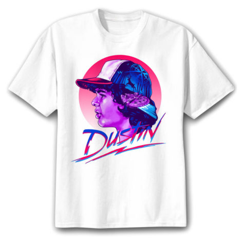 tee shirt stranger things dustin