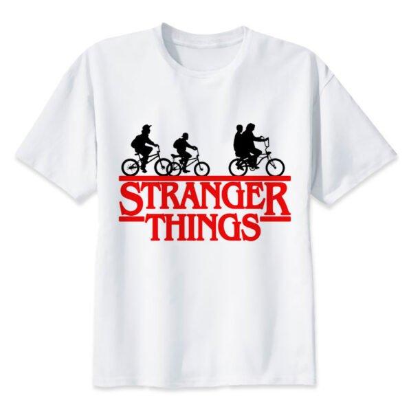 Tee shirt Stranger Things – Silhouettes à vélos