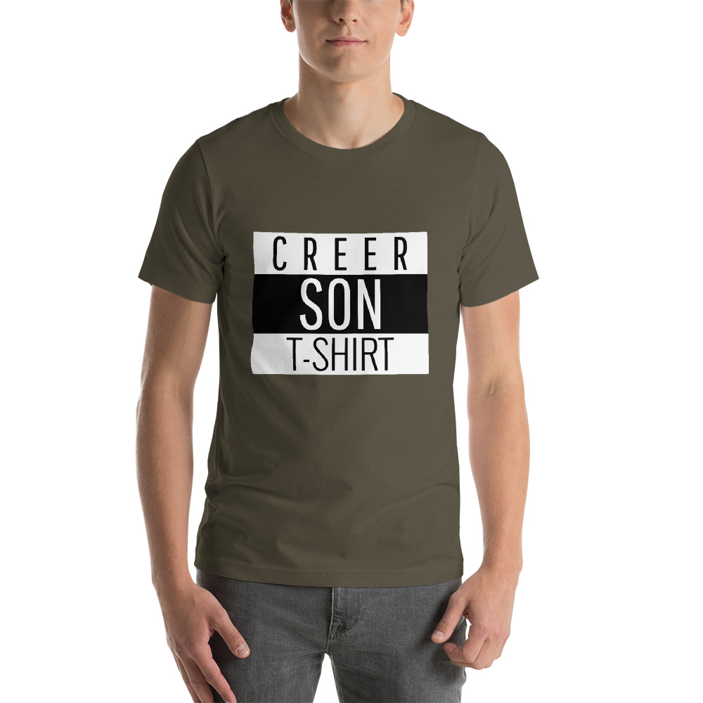 faire son t-shirt - creer son tshirt kaki homme