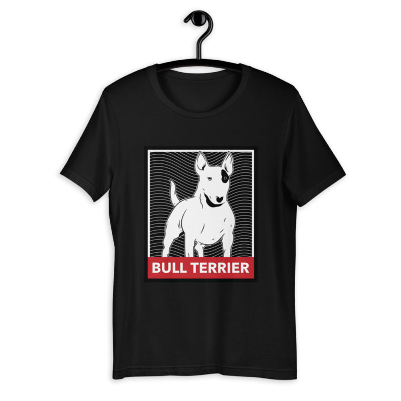t shirt bullterrier pitbull chien