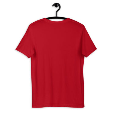 t shirt personnalise rouge creer son tshirt 1