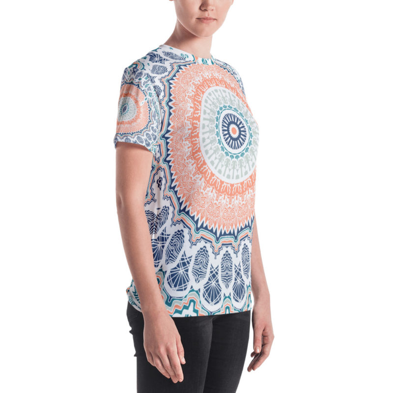 T-shirt personnalisable Fullprint - Ethnic Seamless I Créer Son T Shirt