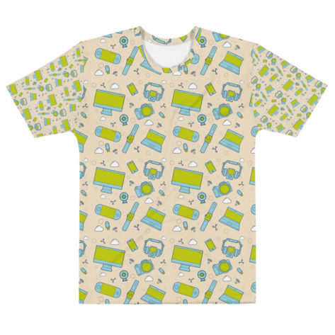 T-shirt personnalisable Fullprint – Geek ONE
