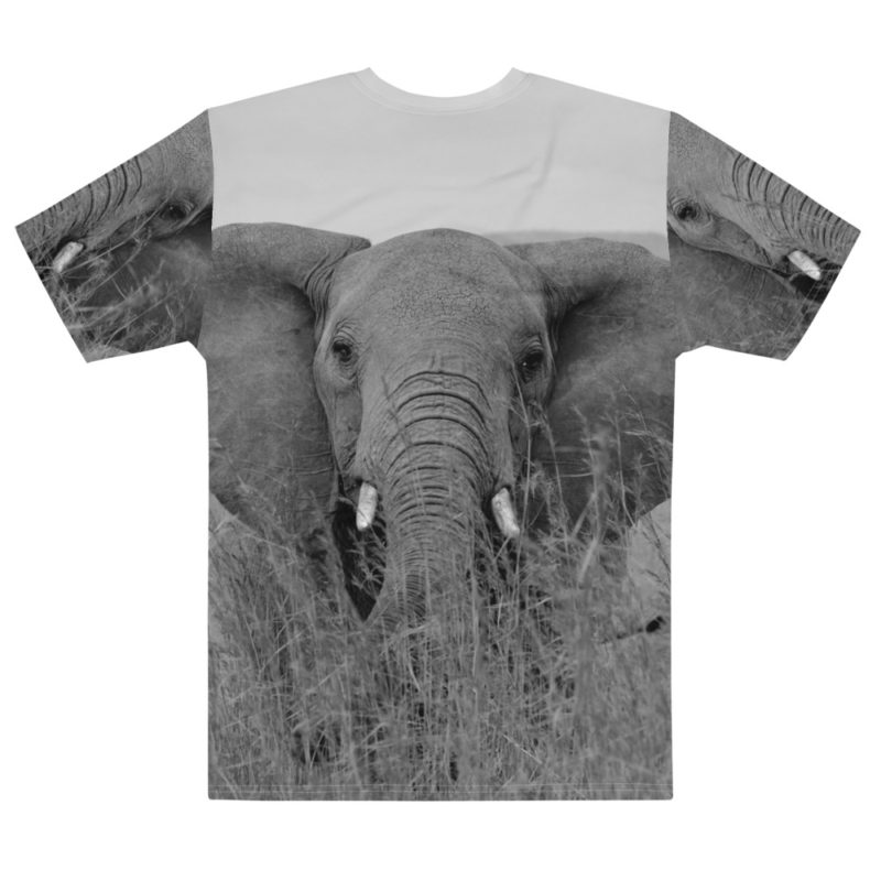 T-shirt personnalisable Fullprint - Animals Collection Elephant Créer Son T Shirt