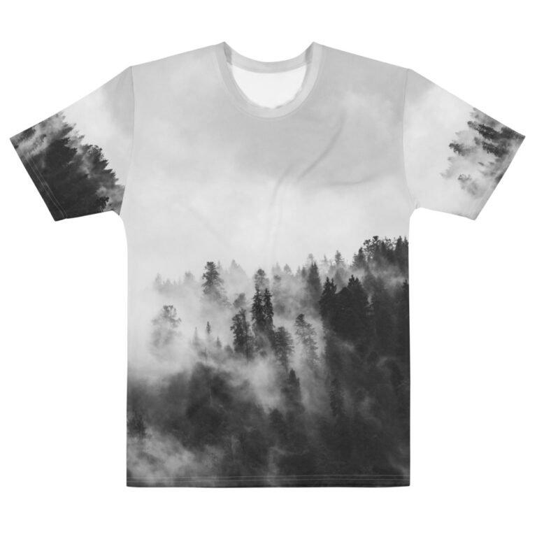 T-shirt personnalisable Full Print 3D – Brume