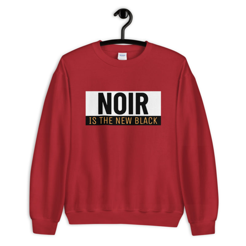 sweat noir is the new black