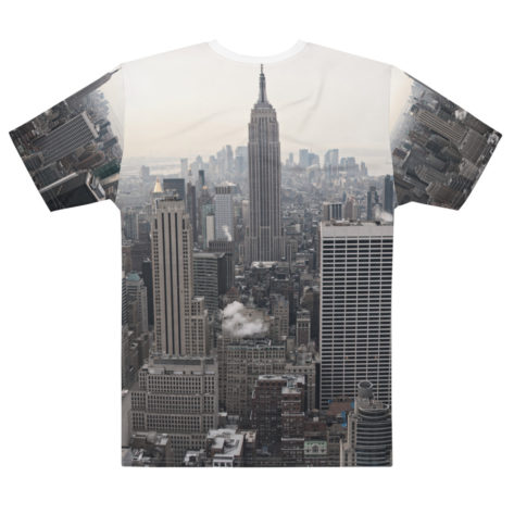 T-shirt personnalisable Fullprint - New York Rockefeller Créer Son T Shirt
