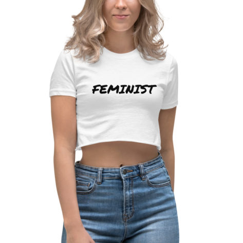 crop top feminist tee shirt créer son tshirt