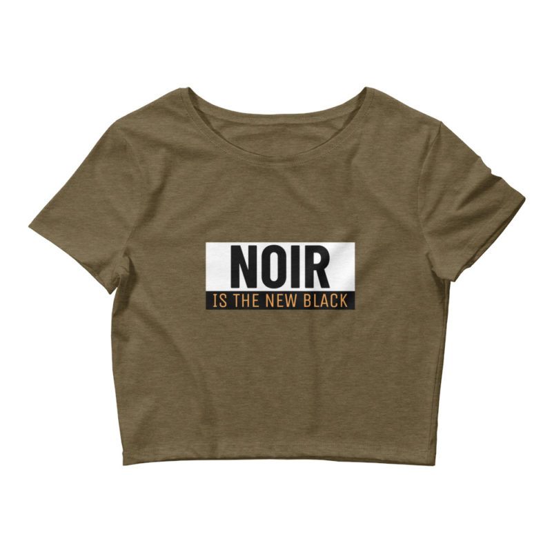 crop top noir is the new black créer son tshirt