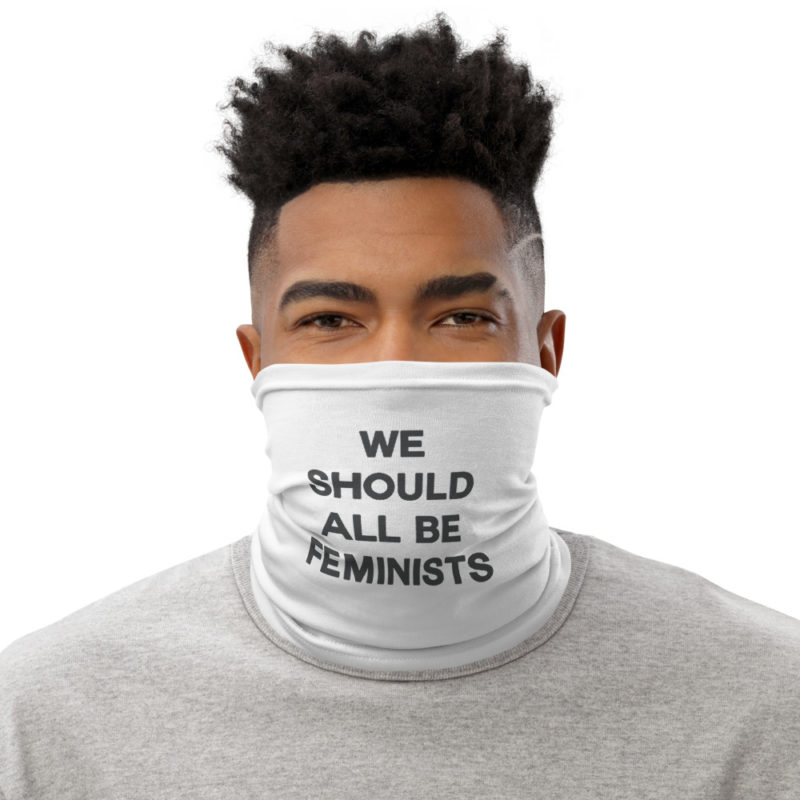 Masque tissu lavable We should all be feminists Créer Son T Shirt