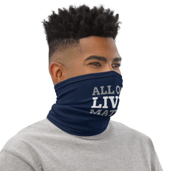 Masque tissu lavable All our Lives Matter
