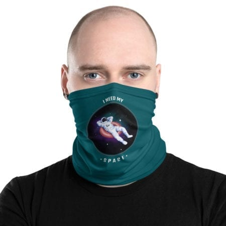 Masque tissu lavable I need my Space