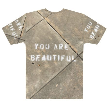 T-shirt Full Print You are Beautiful Homme