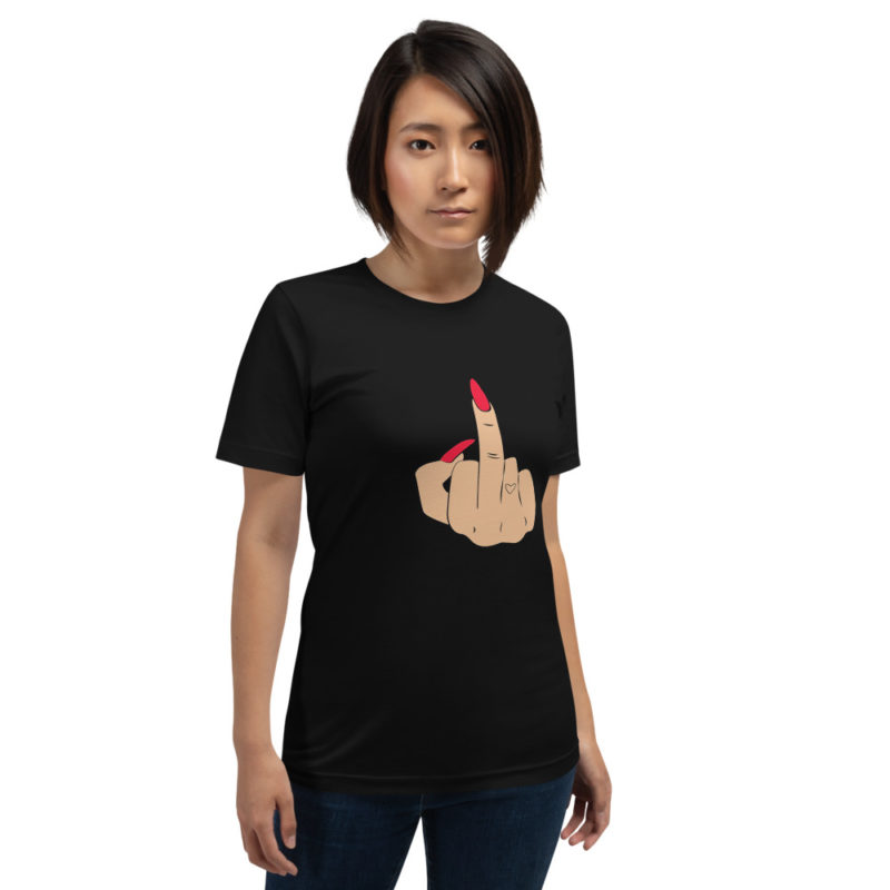 T-shirt Fuck Ongles rouges Créer Son T Shirt