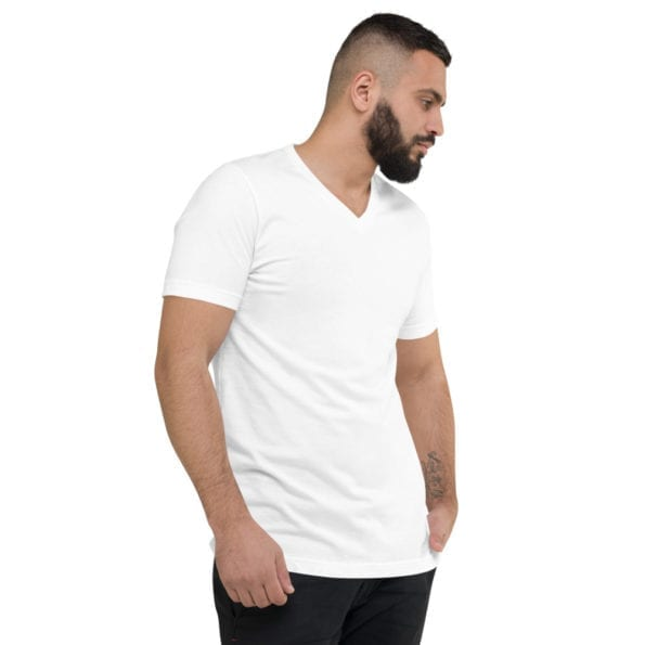 T-shirt personnalisable Col V Homme