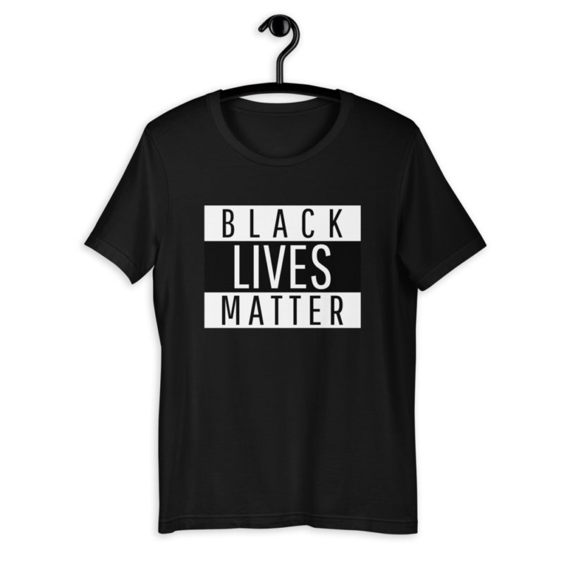 t-shirt-black-lives-matter-protest_mockup_Front_On-Hanger_Black