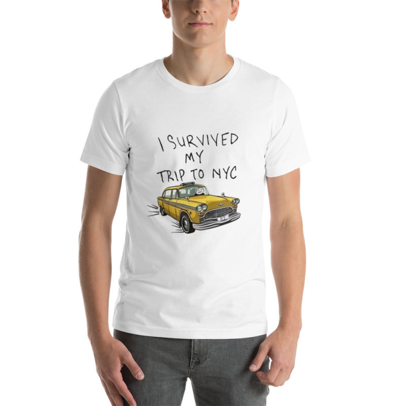 T-shirt I survived My Trip for NYC Créer Son T Shirt