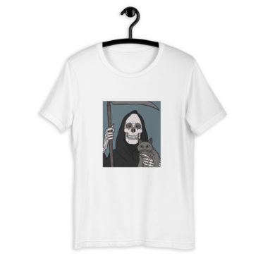 tee-shirt-chat-la-mort_mockup_Front_On-Hanger_White