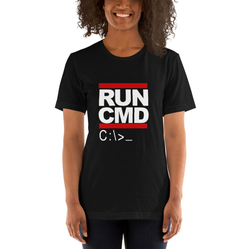 T-shirt RUN CMD Créer Son T Shirt