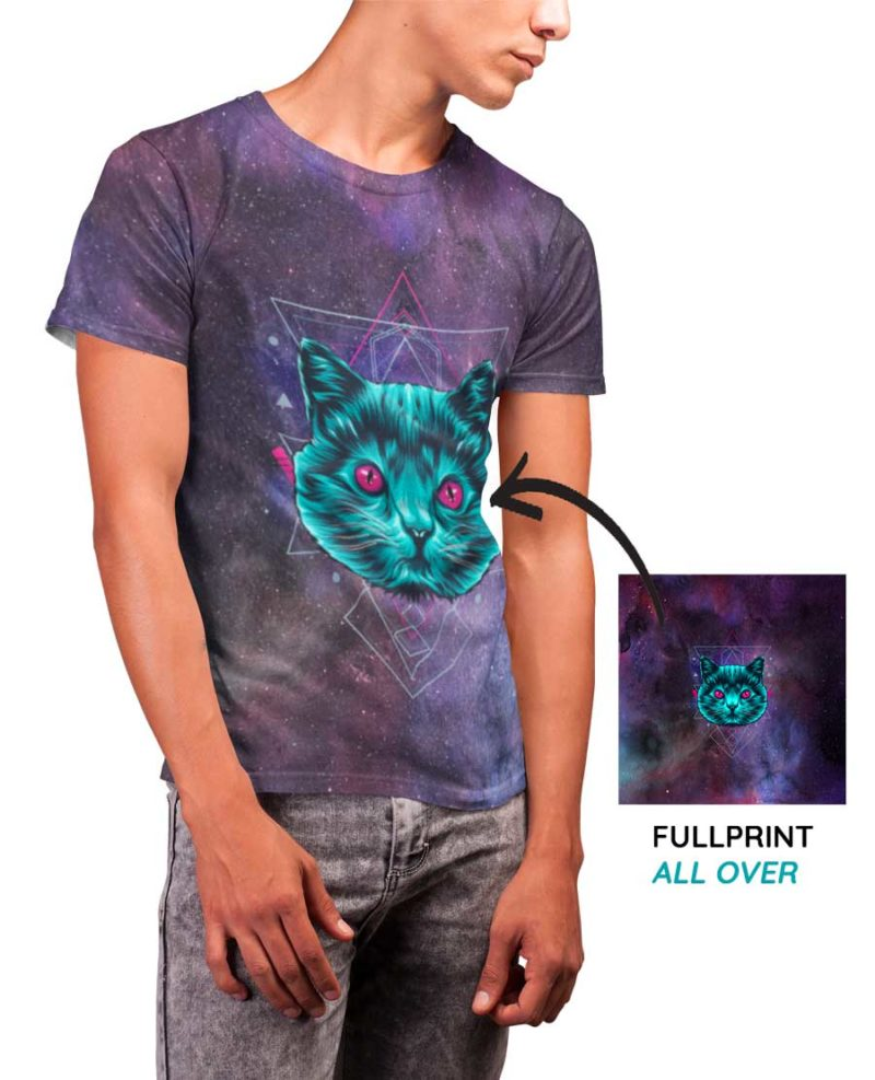 T-shirt personnalisable Full Print