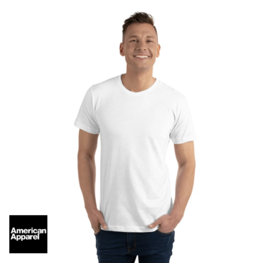 tee shirt personnalise homme american apparel