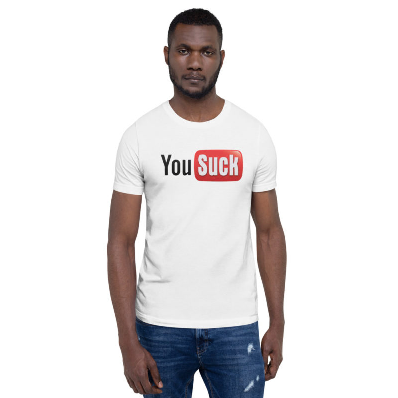 T-shirt Youtube You Suck Créer Son T Shirt