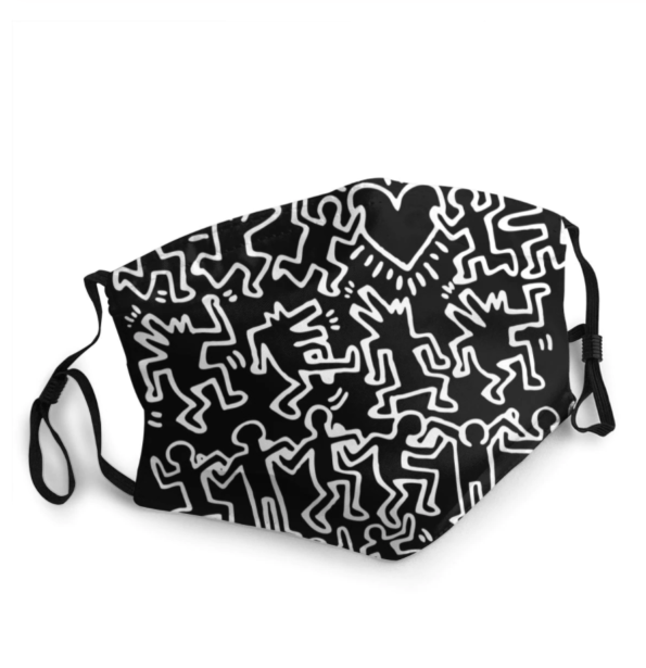 Masque tissu lavable réglable – Keith Haring