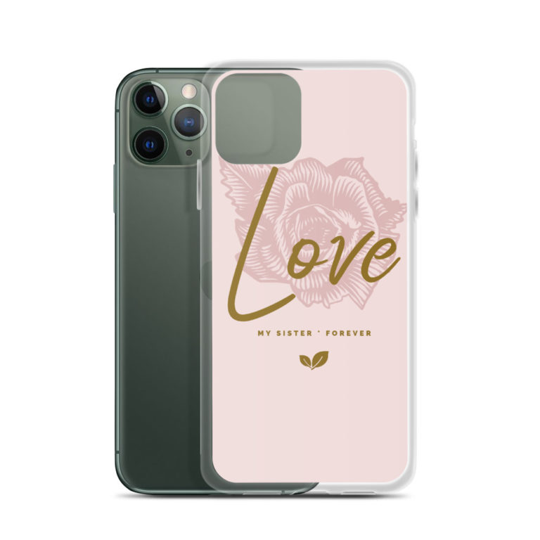 Coque Love My Sister Forever pour iPhone