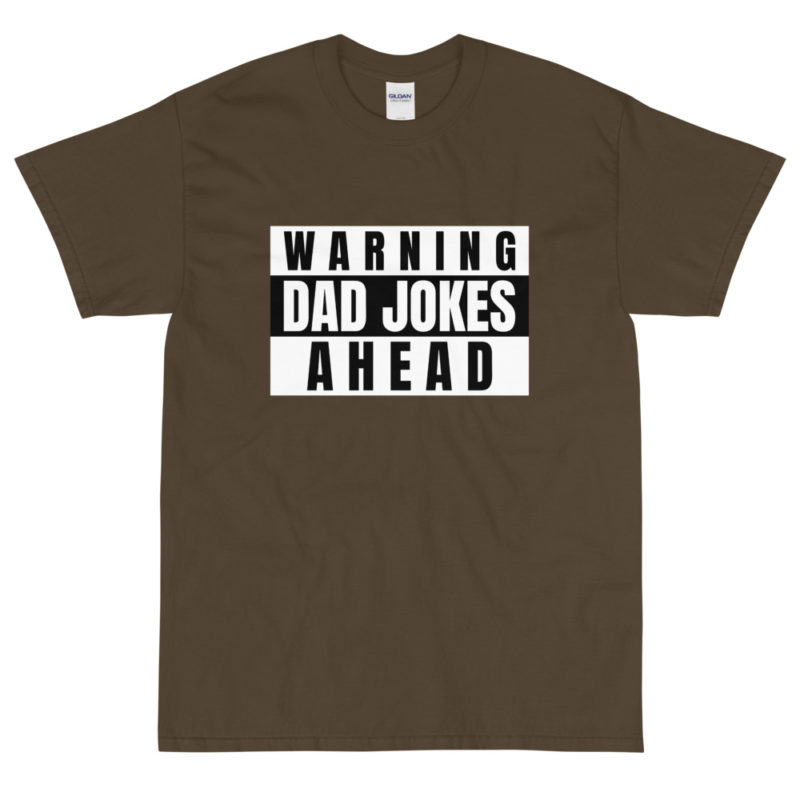 t shirt papa blagues pas droles attention