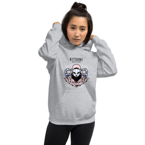 sweat japonais kitsune