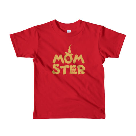 t shirt halloween enfant monstre momster