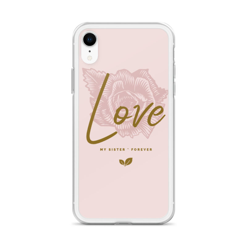 coque love sister soeur je t'aime ma soeur iphone