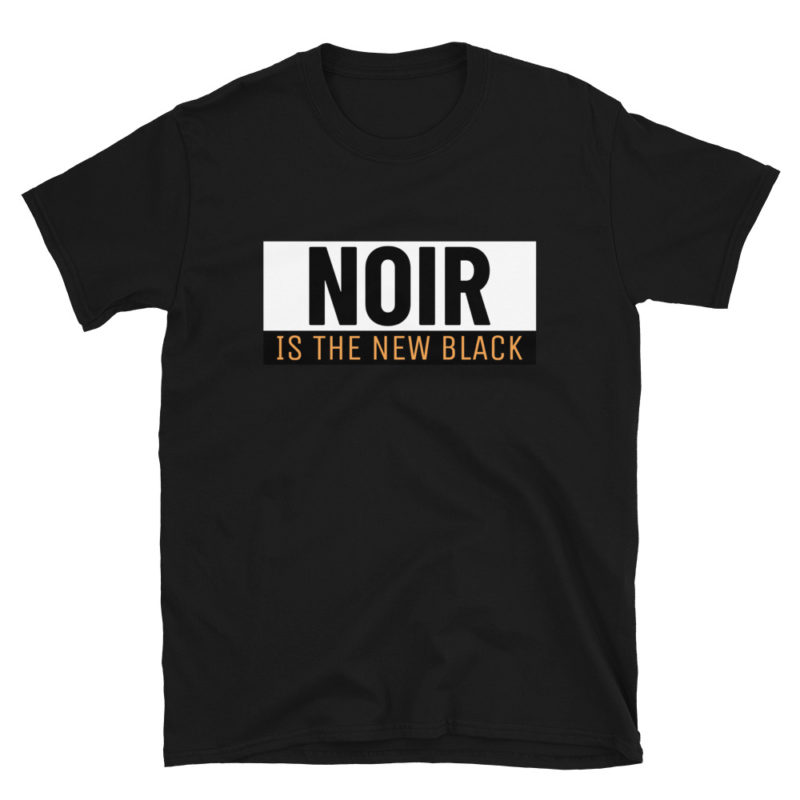 T-shirt Noir is the New Black Unisexe Créer Son T Shirt