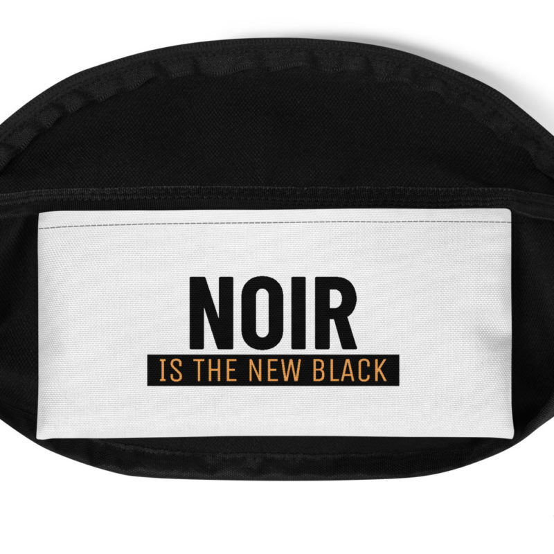 Sac Banane Noir is The New Black Créer Son T Shirt