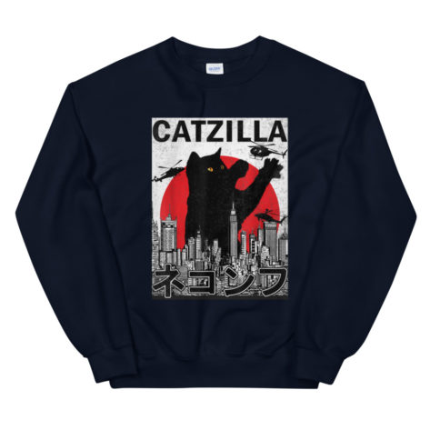Sweat CatZilla Parodie Créer Son T Shirt