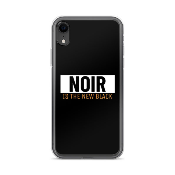 Coque iPhone Noir is The New Black