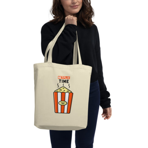 Tote Bag Bio Netflix Time Créer Son T Shirt