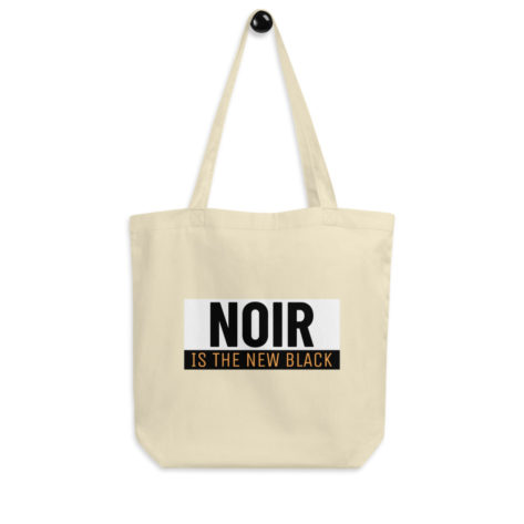 Tote Bag Bio Noir is the New Black Créer Son T Shirt