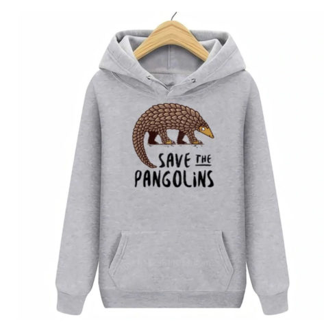 sweat-à-capuche-save-the-pangolins