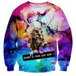Sweat Original Galaxie Where is your God Now – Impression Full print 3D Sublimation