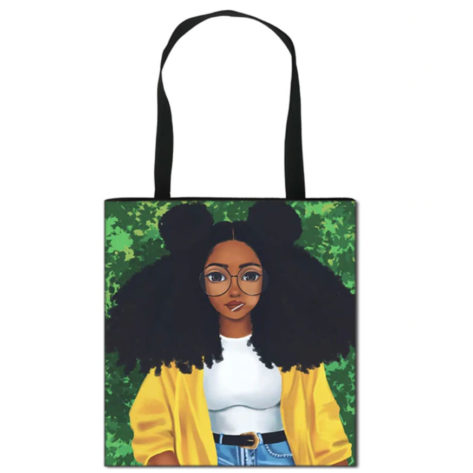 tote-bag-fille-afro-black-beautiful