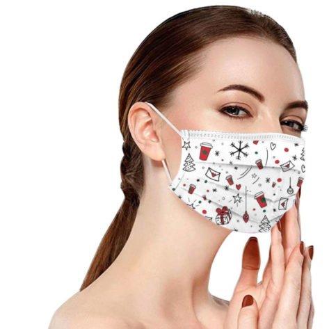 masques-noel-jetables-pas-cher