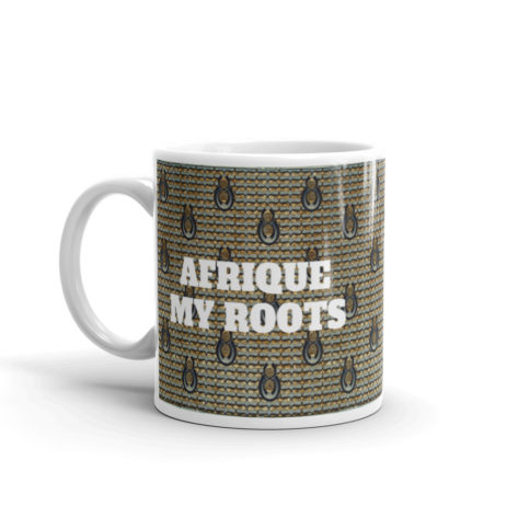 Mug Wax Afrique My Roots Blanc Brillant Créer Son T Shirt