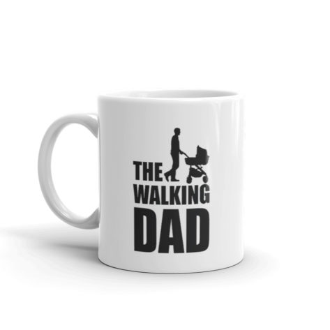 mug papa walking dad