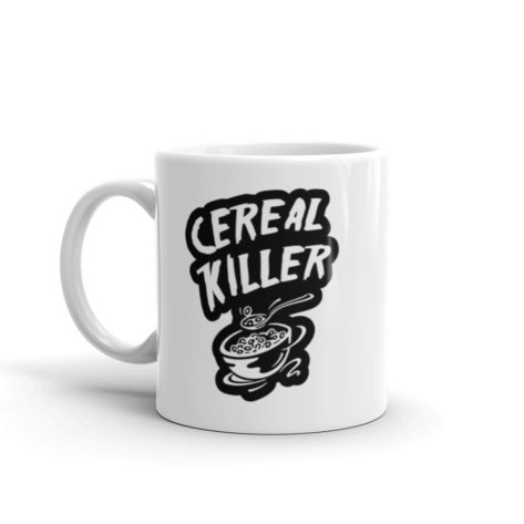 Mug Cereal Killer Blanc Brillant Créer Son T Shirt