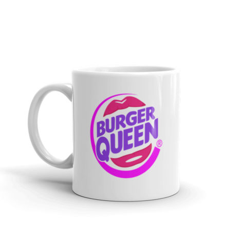 Mug Burger Queen Blanc Brillant Créer Son T Shirt